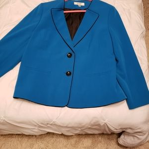 Blue blazer from Jones Studio